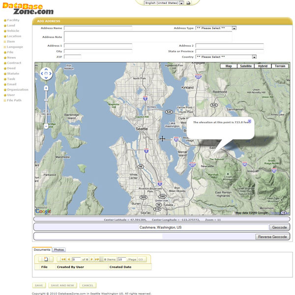 Adding Google Maps V3 to Iron Speed 7x Web pages